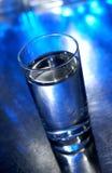 Exponeringsglas av vatten Arkivfoto