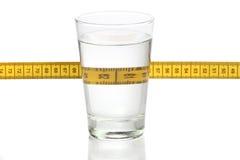 Exponeringsglas av vatten Royaltyfria Foton