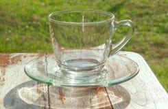 Exponeringsglas av vatten på naturbakgrund, solsken, solljus Royaltyfria Bilder