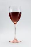 Exponeringsglas av vin Royaltyfria Bilder