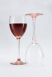Exponeringsglas av vin Royaltyfri Fotografi
