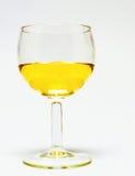 Exponeringsglas av vin, vit Royaltyfri Fotografi