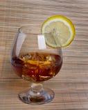 Exponeringsglas av whisky Arkivbilder
