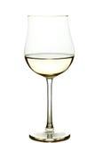 Exponeringsglas av wine 免版税库存图片