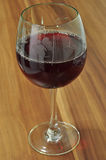 Exponeringsglas av Wine Arkivbild