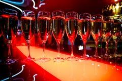 Exponeringsglas av Wine royaltyfria bilder