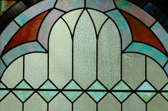 exponeringsglas befläckte jag fönstret Royaltyfria Bilder