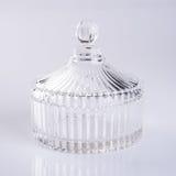 exponeringsglas- eller godiskrus på en bakgrund Royaltyfri Fotografi
