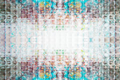 Exponeringsglas färgad abstrakt textur Fotografering för Bildbyråer