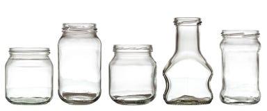 exponeringsglas för flasksamling Arkivfoton