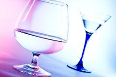 Exponeringsglas för konjak Royaltyfria Foton