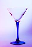 Exponeringsglas för martini Royaltyfri Bild