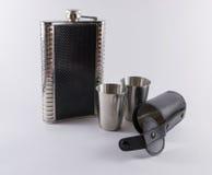 Exponeringsglas för metallloppskott och fallplunta Royaltyfria Foton