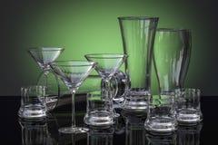 Exponeringsglas för vinabstraktion royaltyfri fotografi