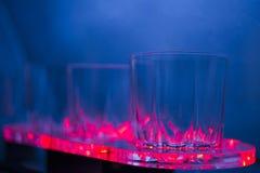 Exponeringsglas i en limo arkivfoton