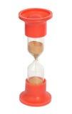 exponeringsglas isolerad röd sand Arkivbild