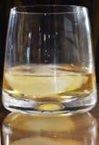 exponeringsglas isolerad reflexionswhiskeywhite Royaltyfria Bilder