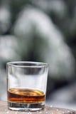 exponeringsglas isolerad reflexionswhiskeywhite arkivfoto