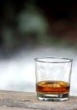 exponeringsglas isolerad reflexionswhiskeywhite royaltyfria foton