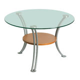 exponeringsglas isolerad tabell Royaltyfri Fotografi