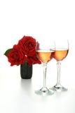 exponeringsglas isolerad wine Royaltyfri Fotografi