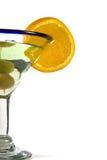 exponeringsglas isolerade martini Royaltyfria Foton