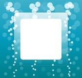 Exponeringsglas kvadrerar bevattnar in bakgrund Royaltyfri Fotografi