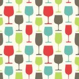 exponeringsglas mönsan seamless wine Arkivbild