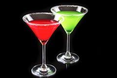 exponeringsglas martini Royaltyfri Bild