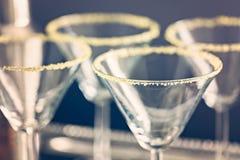 exponeringsglas martini Royaltyfria Bilder