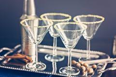 exponeringsglas martini Royaltyfri Foto