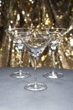 exponeringsglas martini tre Arkivfoto