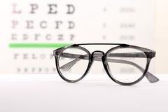 Exponeringsglas med korrigerande linser arkivbild