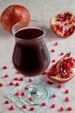 Pomegranatefruktsaft Royaltyfri Foto