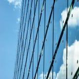 Exponeringsglas och arkitektur Fotografering för Bildbyråer