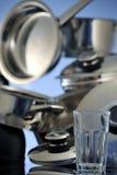 Exponeringsglas och disk Arkivfoton