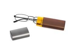 Exponeringsglas och fall fotografering för bildbyråer