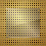 Exponeringsglas och guld Arkivfoto