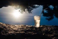 Exponeringsglas och sol Royaltyfria Bilder