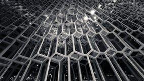Exponeringsglas och stålsätter Arkivfoto