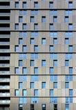 Exponeringsglas- och stålbyggnadsstrukturer Royaltyfria Foton