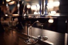 Exponeringsglas på en bordlägga Arkivbild