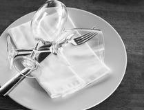 Exponeringsglas på en platta royaltyfri fotografi