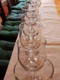 Exponeringsglas på tabellen royaltyfri bild
