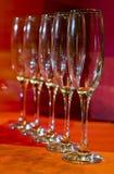 Exponeringsglas på tabellen Royaltyfri Foto