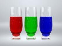 exponeringsglas rgb Royaltyfri Fotografi