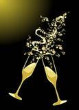 exponeringsglas rostar två Royaltyfri Fotografi