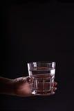 exponeringsglas rymmer vattenkvinnan Royaltyfria Bilder