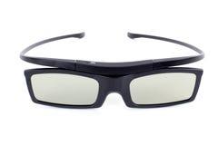 exponeringsglas som 3D isoleras på vit bakgrund Arkivfoton