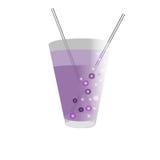 Exponeringsglas sund drink Vektor Illustrationer
